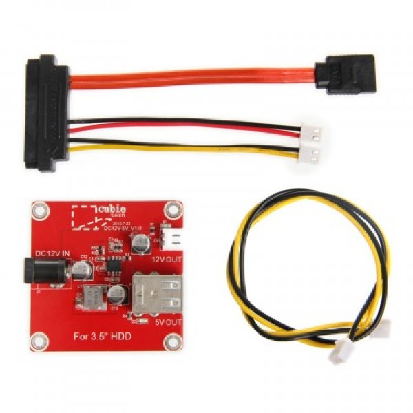 3.5 inch HDD addon package for cubieboard