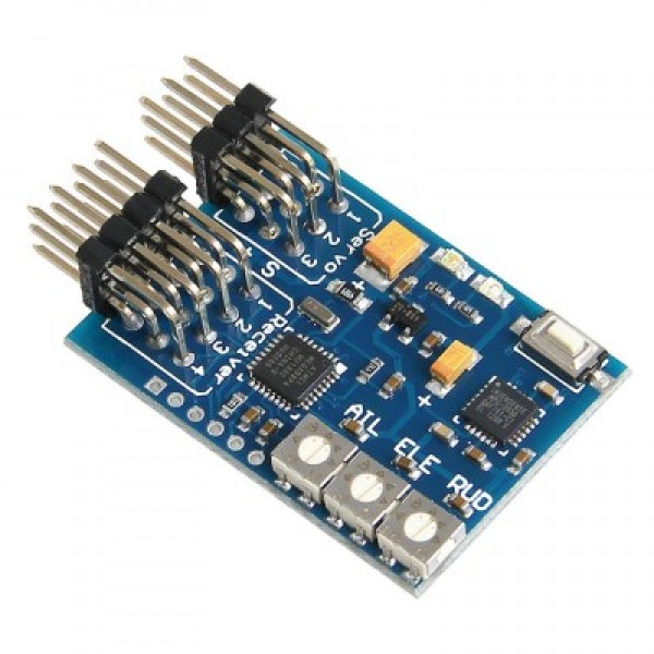 XZN Eagle A3 Pro Micro Airplane Flight Controller with AVCS