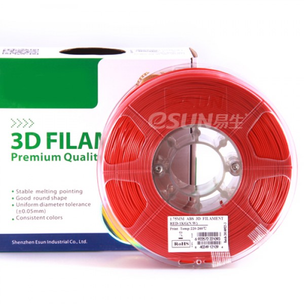 WERCAN 3D FILAMENT ABS RED