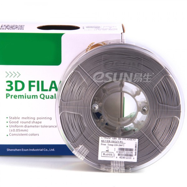 WERCAN 3D FILAMENT ABS SILVER