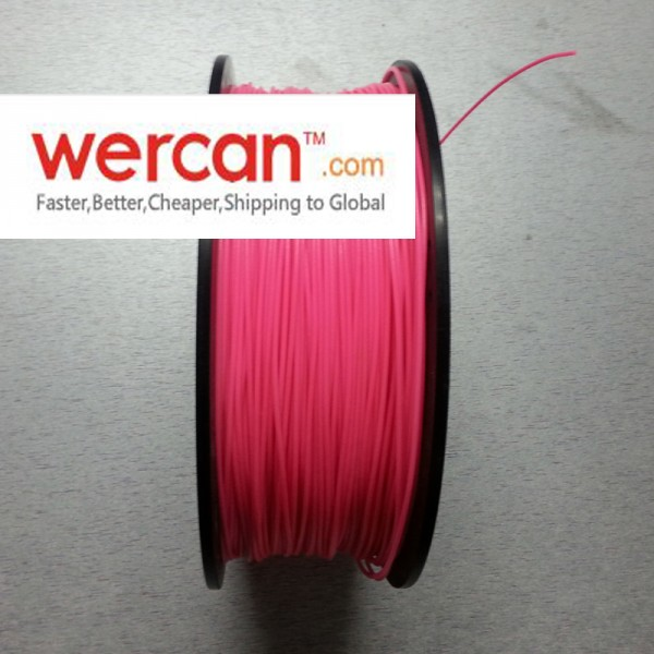 WERCAN 3D FILAMENT PLA LUMINOUS RED