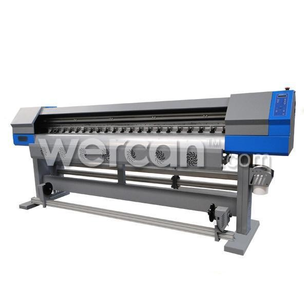 5ft (1.8m) Eco solvent printer with two DX7 head
