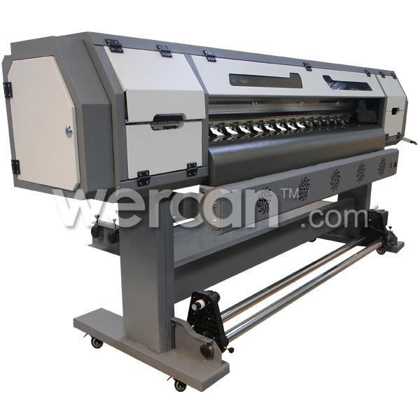 6ft (1.8m) ES1801 Popular Type Eco Solvent Printer with DX5 Printhead