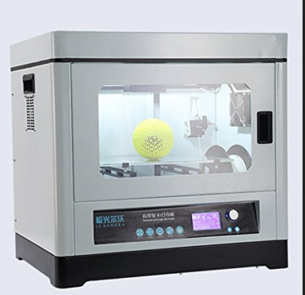 Metal Frame LCD Screen Acquired High Precision 3D Printer
