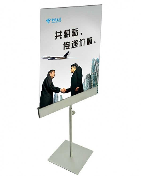 Poster Stand Holder Tabletop KT Board Stand Sign Holder Adjustable Metal A4/A3 Table Poster Display Stand Rack