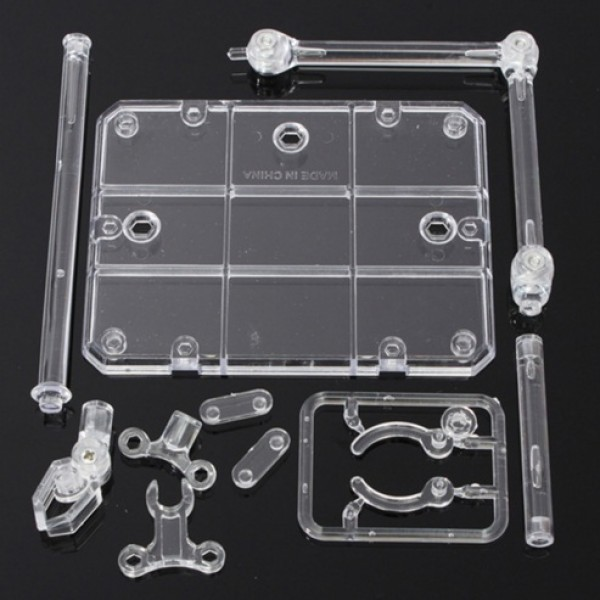 New 1/144 HG/RG Gundam/Figure+Hook Blue Easily  Transparent Action Base Suitable Display Stand