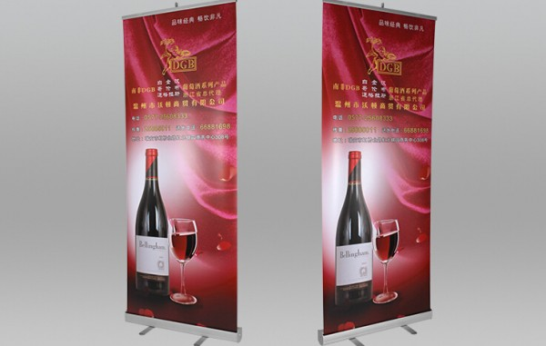 roll up banner roll screen Roll Up Stands poster holder showing display rack 0X200cm Poster portable display exhibition board
