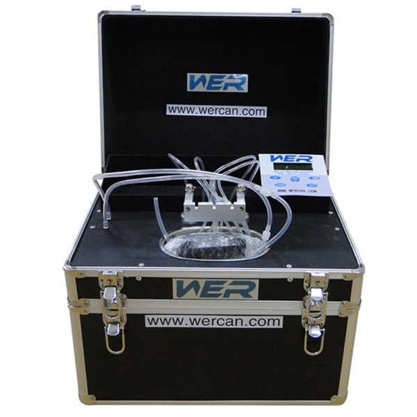 Wer ultrasound print head cleaning machine for all kinds of printhead