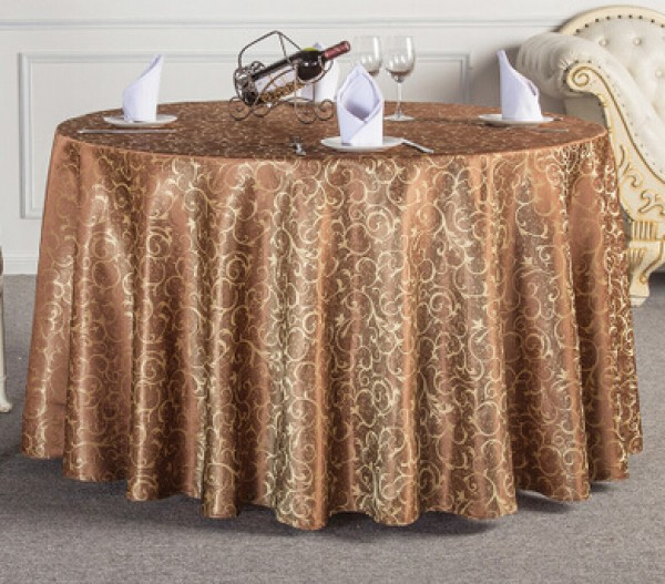hotel christmas wedding party Home Textiles 00% Polyester tablecloth 100X100CM printed Table cloth cover