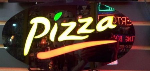 Waterproof LED screen Electronic word sign neon lamp Business poster sign Pizza Moving display light LED open sign