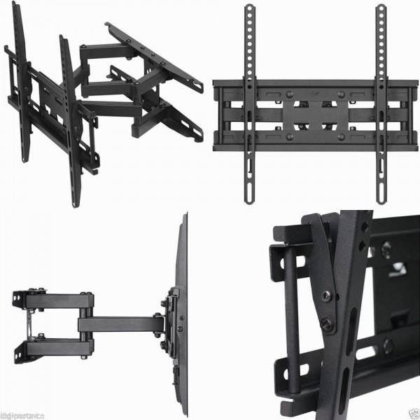 TV Mount Bracket VESA 420X410 Size 120 Tilt Swivel AE107CK1DE Universal Television Wall Hanger LCD LED Plasma Rotating Arm