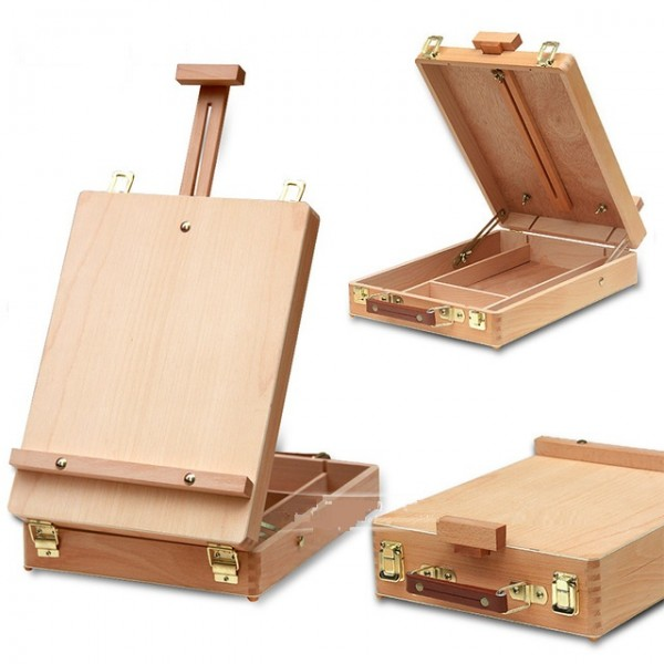 Fillet Desktop Caballete Box Easel Painting Hardware Accessories Multifunctional Painting Suitcase