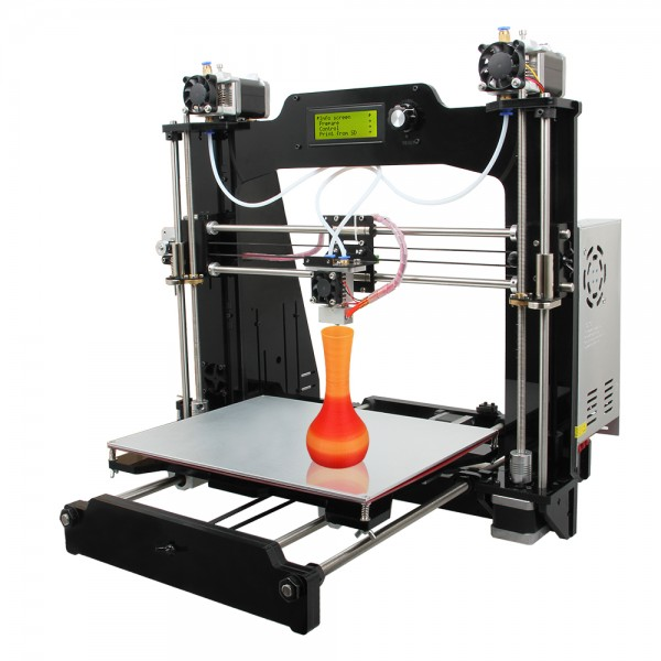 Geeetech Prusa I3 M201 3D printer Self-assembly DIY Kit 2-in-1-out LCD Controller Mix Color Desktop Computer DIY Printer