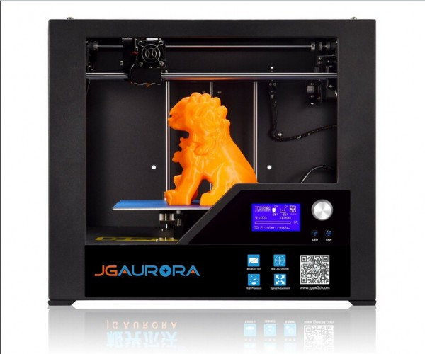 JGAURORA Metal Frame 3D Printer High Precision Control by LCD Screen  Z603S